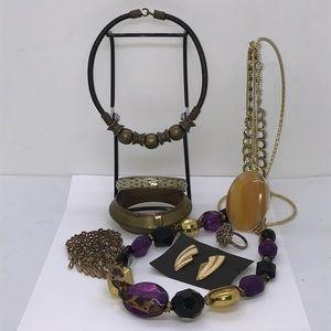 80's Vintage Chunky Jewelry Bundle